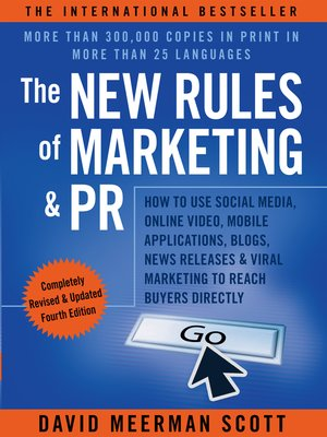 cover image of The New Rules of Marketing and PR